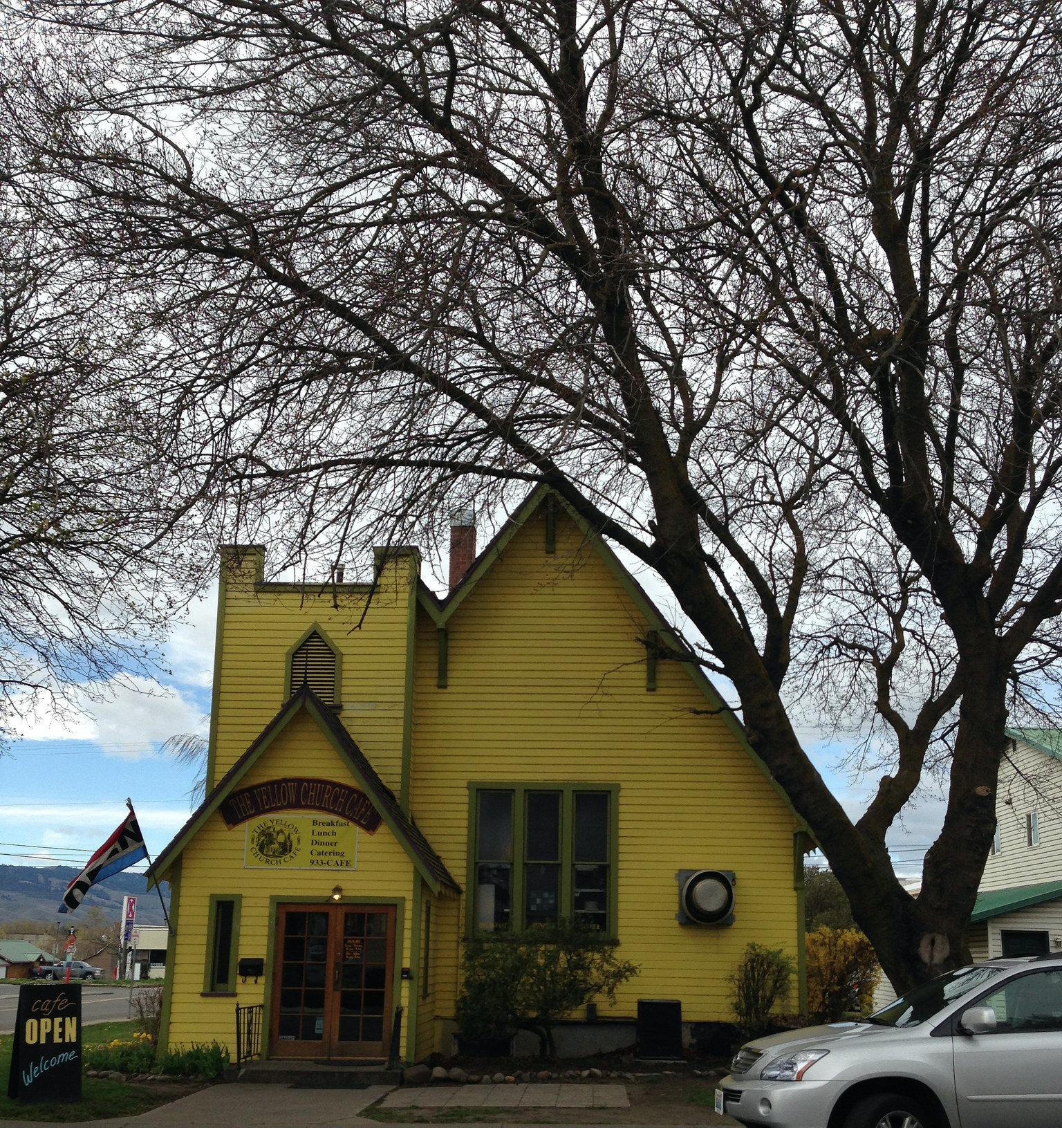 Yellow Church Cafe Lunch Menu
